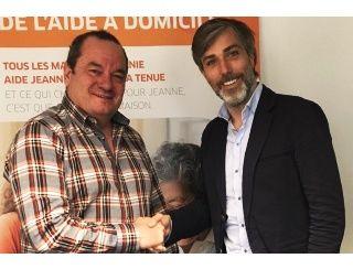 Christophe Gratedoux, Franchisé