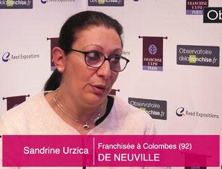 Sandrine Urzica, Franchisée à Colombes (92)