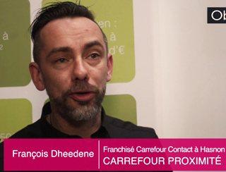 François Dheedene, Franchisé à Hasnon (59)