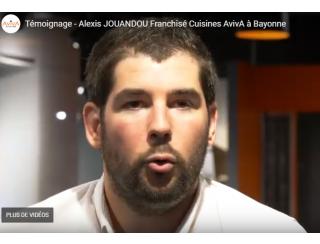 Alexis Jouandou, Franchisé AvivA à Bayonne