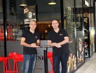 Emmanuel Nicolleau et Christophe Ruaud, Franchisés
