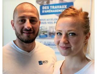 Tiffany et Charles Pierre, Franchisés à Lagny sur Marne (77)