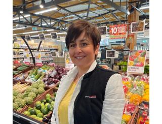 Muriel Danne, Adhérente Intermarché, dans l'Orne (61)